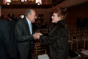 Aziz Radwan and Georgette Mosbacher
