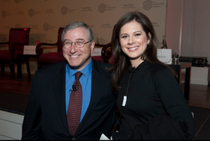 Sandy Climan and Erin Burnett
