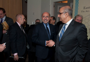 Mr Shafik Gabr and Ambassador Maged Abdel Aziz