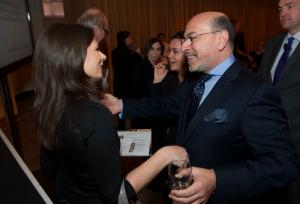 Erin Burnett and Mr Shafik Gabr