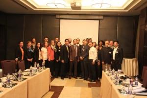 Bob Castro with Fellows