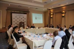 Dina El Mofty of INJAZ with Fellows