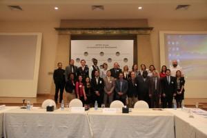 Dr Ahmed Darwish with Fellows