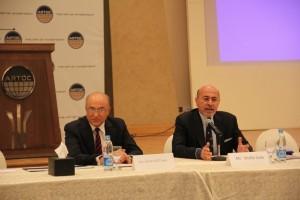 Gen. Sameh Seif El-Yazal and Mr Shafik Gabr