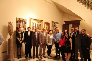 Mr Shafik Gabr with Eqyptian Fellows