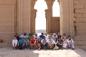 The Fellows at Philae Temple