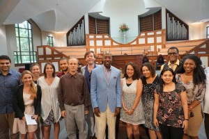 Fellows with Christine King Farris