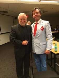 Rev. Jim Wallis and Gabr Fellow Daniel Sullivan