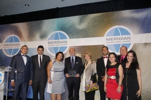 Mr Shafik Gabr - Global Citizenship Awardee, Ambassador Sallama Shaker and the Fellows