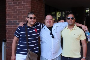 Ahmed El-Assal, Jeremiah Bowden and Zeyad El Kelani