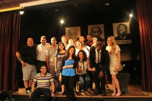 The Fellows at Open mic night at Busboys and Poets