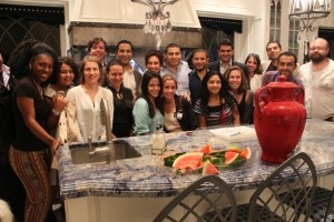 Dinner at home of Judge Jeanine Pirro