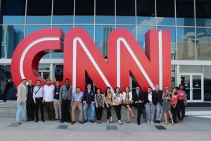 Fellows at CNN HQ, New York City