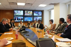 Fellows in meeting with Judge Jeanine Pirro, CNN