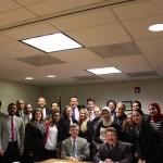 David Hamod, President and CEO, and Ambassador Gordon Gray, National U.S. Arab Chamber of Commerce