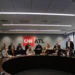 Fellows at CNN Headquarters