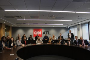 Fellows at CNN Headquarters