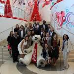 Fellows at CocaCola World