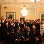 Fellows at Dinner hosted by Egyptian Ambassador Yasser Reda
