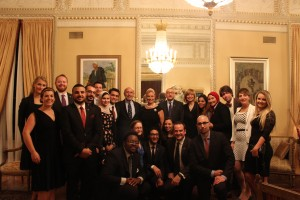 Fellows at Dinner hosted by Egyptian Ambassador Yasser Reda