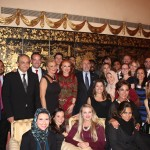 Fellows at the Cocktail Reception Hosted by Ms. Georgette Mosbacher