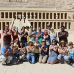 Fellows visit to Hatshepsut Temple in Luxor