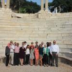 Gabr Fellows at the Roman Amphitheatre in Alexandria