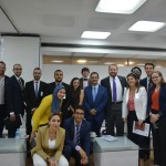 Gabr Fellows with Dr. Ahmed Darwish at the Greek Campus