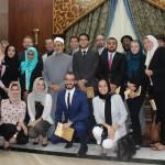 Gabr Fellows with Dr. Ahmed El Tayeb, Grand Sheikh of Al Azhar 2