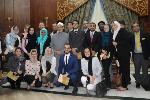 Gabr Fellows with Dr. Ahmed El Tayeb, Grand Sheikh of Al Azhar 2