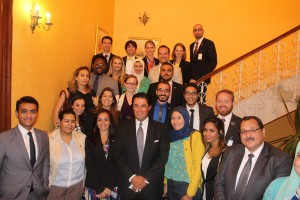 Gabr Fellows with Mr. Hany El Messiry, Former Governor of Alexandria
