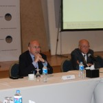 General Sameh Seif Elyazal, Director of Al Gomhuria Center for Political and Security Studies with Mr. Shafik Gabr