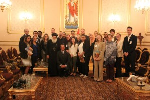 Meeting with H.G. Bishop Moussa, Bishop of Youth Affairs
