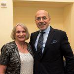 Chairman Gabr and Ambassador Wendy Chamberlin
