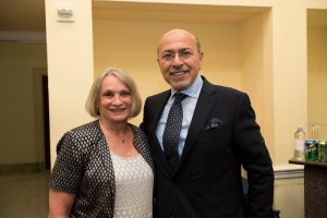 Chairman Gabr and Ambassador Wendy Chamberlin