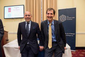 Chairman Shafik Gabr and Dr Daniel Shapiro
