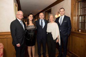 Congressman Howard Berman, Mr George Selim, and Gabr Family