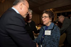 Honorees Chairman Gabr and Ms. Shirley Sugerman