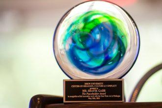 The Peacebuilder Award at Drew May 2016