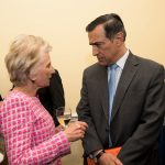The Honorable Darrell Issa and Jane Harmen