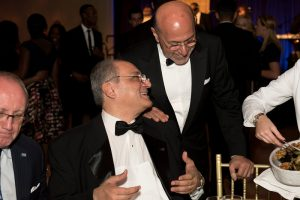 H.E. Ambassador Ahmed Farouk, Consul General of Egypt in New York and Chairman Shafik Gabr