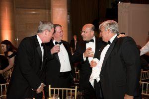 Kevin O'Callaghan and Chairman Shafik Gabr