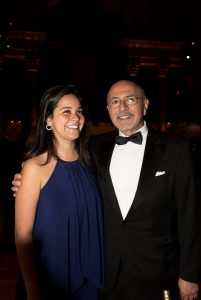 Chairman Shafik Gabr and Daughter Malak