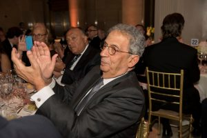 Former Secretary General of the Arab League Amr Moussa