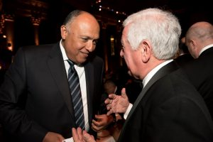 Congressman Nicholas Rahall and H.E. Sameh Shoukry