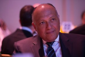 H.E. Sameh Shoukry Minister of Foreign Affairs for the Arab Republic of Egypt