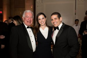 Congressman Nicholas Rahall, Mr Mohamed Ramzi, and Dr Lara Saleh