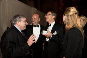 Mr Sandy Clyman, Chairman Shafik Gabr