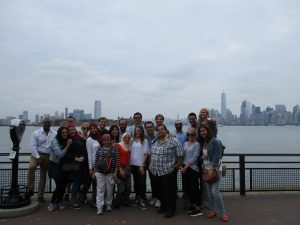Fellows at Ellis Island