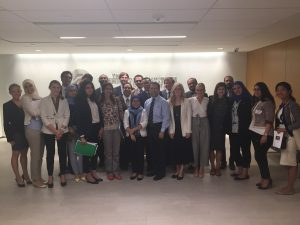 Dr Robert Satloff meets with the Fellows at the Washington Institute